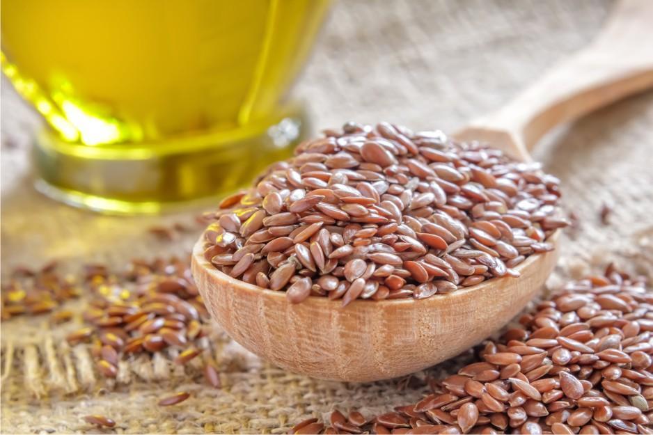 Лечение гипертонии семенами льна