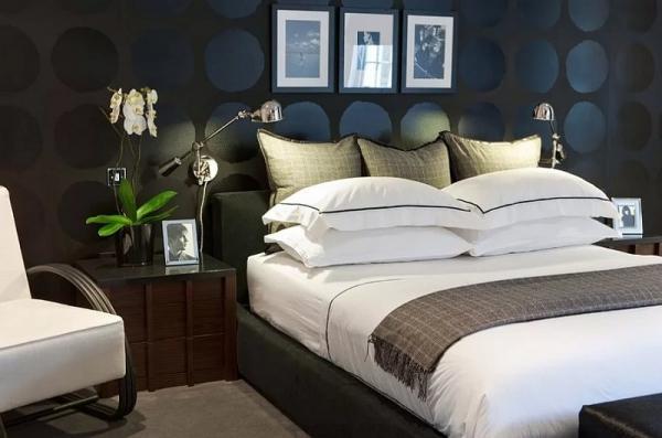 орхидеи в спальне1