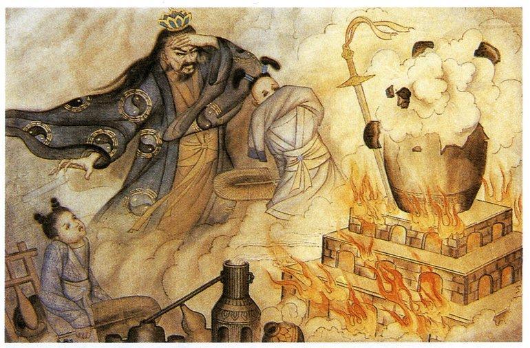 Китайцы изобрели порох