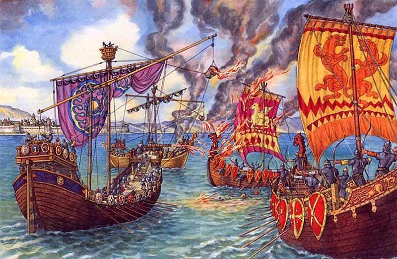 История греческого огня